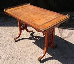 2208201919th Century Antique Gillow Library Table 25d 44w 28½ or 29½h _5.JPG