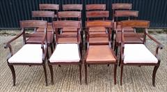 2809201912 Regency Mahogany Antique Dining Chairs Attributed to Gillow Carver 22d 33h 21w 18½s Single 20½d 33h 19w 18hs _5.JPG