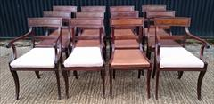 2809201912 Regency Mahogany Antique Dining Chairs Attributed to Gillow Carver 22d 33h 21w 18½s Single 20½d 33h 19w 18hs _7.JPG