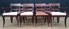 2809201912 Regency Mahogany Antique Dining Chairs Attributed to Gillow Carver 22d 33h 21w 18½s Single 20½d 33h 19w 18hs _8.JPG
