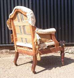 3009201919th Century Howard And Sons Bedroom Chair 25w 35h 15 hs 26d 21d frame _8.JPG