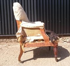 3009201919th Century Howard And Sons Bedroom Chair 25w 35h 15 hs 26d 21d frame _9.JPG