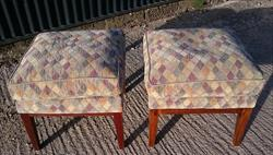 0911201920th Century Hares Antiques Made Pair of Down Stools 20d 20w 19h _1.JPG