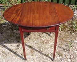111120191790 Antique Pembroke Table 30d 19½w 38w 28h _1.JPG