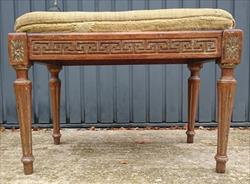 1411201919th Century Antique Stool 23½w 15½d 17h _3.JPG