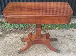 031220191820 Regency Mahogany Card Table Tea Table 36w 35½w 17¾d 28½h closed _1.JPG