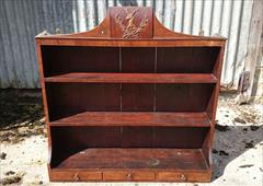 mahogany antique wall hanging shelves1.jpg