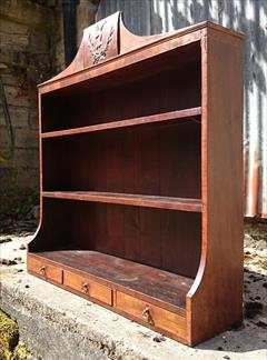 mahogany antique wall hanging shelves3.jpg