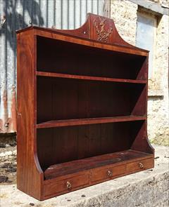 mahogany antique wall hanging shelves4.jpg