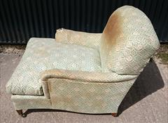 1950s Howard Titchfield Chair 47d max 37d tol 32 wide max 33 w arms 34 h 18 hs 15.JPG