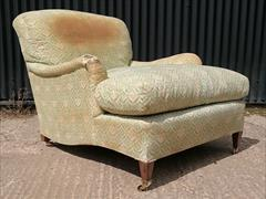1950s Howard Titchfield Chair 47d max 37d tol 32 wide max 33 w arms 34 h 18 hs 5.JPG