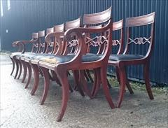 12 antique dining chairs carver 21½w 22d 34h single 18½w 20d 34h 18hs 15.JPG