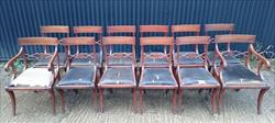 12 antique dining chairs carver 21½w 22d 34h single 18½w 20d 34h 18hs 3.JPG