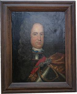 Antique oil painting of Charles III of Spain.jpg