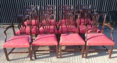 12 Antique Dining Chairs carver 26w 38h 24d 18hs single 22½w 38h 23d 18hs _5.JPG