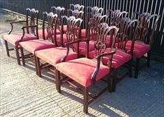 12 Antique Dining Chairs carver 26w 38h 24d 18hs single 22½w 38h 23d 18hs _8.JPG