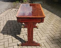 AntiqueSideTableLIbraryTable30w23d20halfh6.JPG