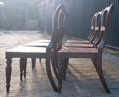 6 Antique Gillows Dining Chairs 10.JPG