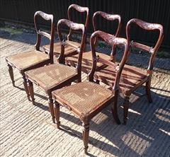 6 Antique Gillows Dining Chairs 11.JPG