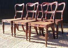 6 Antique Gillows Dining Chairs 13.JPG