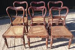 6 Antique Gillows Dining Chairs _2.JPG