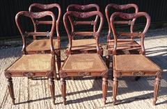 6 Antique Gillows Dining Chairs 3.JPG
