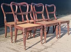 6 Antique Gillows Dining Chairs 7.JPG