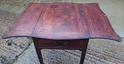 1770 Antique Pembroke Table 35½w max 18½w down 27d 27h _10.JPG