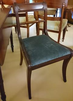 18 Regency Repoduction Dining Chairs 18½w 33h 18hs 20d _1.JPG