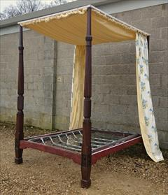 Mahogany antique four poster bed2.jpg
