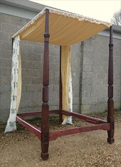 Mahogany antique four poster bed3.jpg