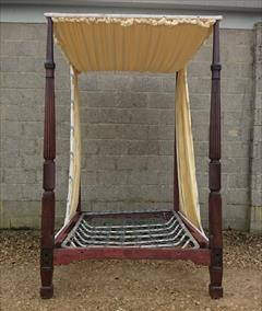 Mahogany antique four poster bed4.jpg