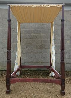 Mahogany antique four poster bed5.jpg