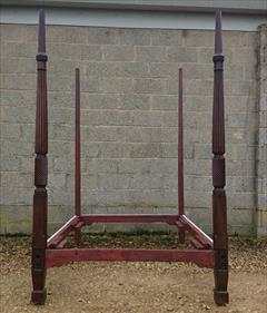 Mahogany antique four poster bed6.jpg