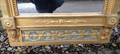 Regency gilded and decorated antique pier glass mirror4.jpg