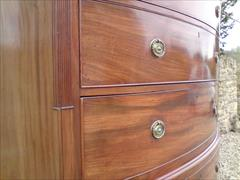 George III mahogany antique chest on chest4.jpg