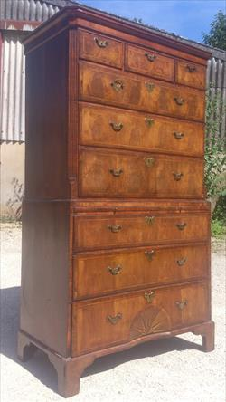 Walnut antique chest on chest.jpg