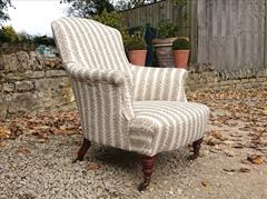 Howard and Sons Tub Chair 30w 33h 33d 2.JPG
