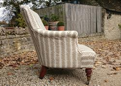 Howard and Sons Tub Chair 30w 33h 33d 3.JPG
