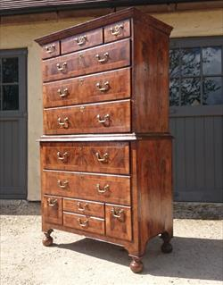 Antique Walnut Chest 21½ deep 42 wide 71 high 16.JPG