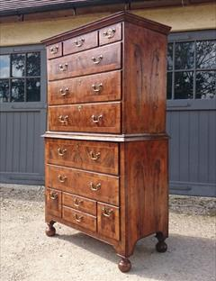 Antique Walnut Chest 21½ deep 42 wide 71 high 23.JPG