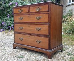 oak and mahogany antique chest of drawers4.jpg