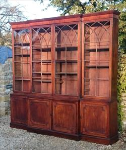 mahogany antique breakfront bookcase.jpg