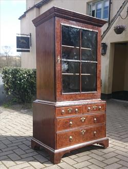 18th century walnut antique cabinet.jpg
