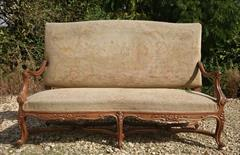 Antique French Sofa 67w 43h 28d max 24d seat _2.JPG