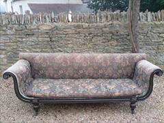 Regency ebonised beech antique sofa1.jpg