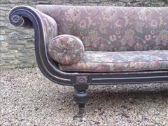Regency ebonised beech antique sofa4.jpg