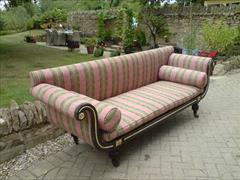 Regency ebonised beech antique sofa6.jpg
