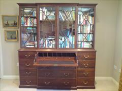 George III mahogany antique secretaire1.jpg