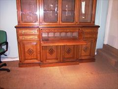1870 aesthetic movement antique oak bookcase1.jpg